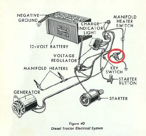 Ford Tractor Wiring by 1964 Ford 2000 Tractor Wiring Diagram