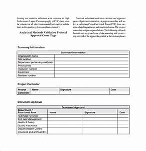 9 sample validation plan template free documents in pdf With pdf document validation