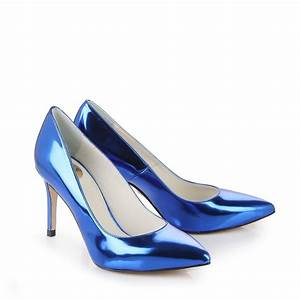 Blau Metallic Lack : buffalo pumps in blau metallic online kaufen buffalo ~ Eleganceandgraceweddings.com Haus und Dekorationen