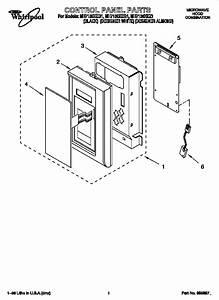 Whirlpool Microwave Hood Combination Parts