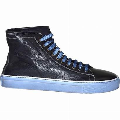 Navy Sneaker Dyed Zenna Dip Denim Shoes