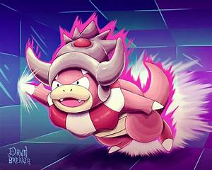Slowking.... slow? by DawnbreakerDESIGNS on DeviantArt