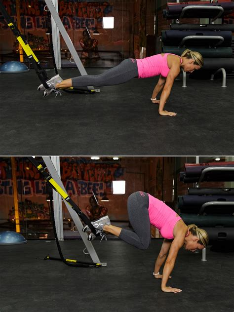 trx workout knee tuck kettlebell push exercise atomic watchfit side forward position