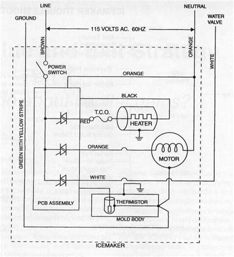Icemaker Schematic Diagram