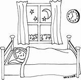 Sleeping Coloring Ss sketch template