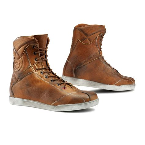 high top motorcycle boots tcx x rap high top urban motorcycle boots tabacco retro