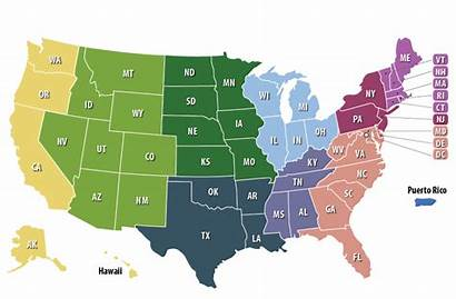 Sae States Map State Regions Area Maps