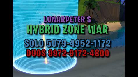 solo hybrid zone wars  fortnite creative fortnite