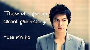 Lee Min Ho - My... Yi San Quotes