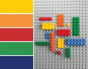 Color Inspiration: LEGO® Bricks - Merriment Design
