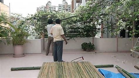 bangalore bamboo fencing youtube