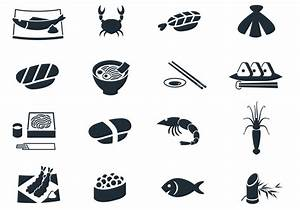 Seafood Icon Vector Pack - Download Free Vector Art, Stock ...