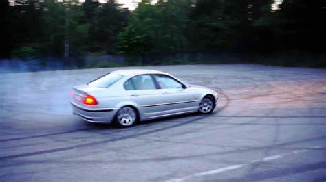 BMW E46 328 open diff, BMW E30 325 LSD drift practice ...