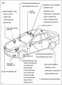 Xenon Headlamp Fuse Location    Lexus Is