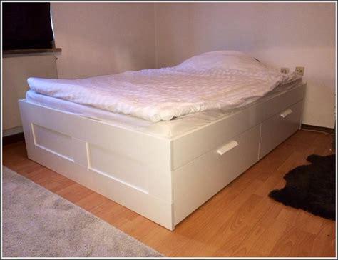 Bett Ikea Brimnes Gebraucht  Betten  House Und Dekor