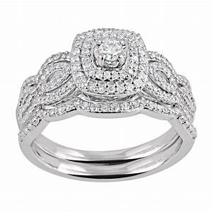 view full gallery of brilliant walmart princess cut With womens wedding ring sets walmart