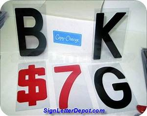 changeable flex change letters 8quot on 8 7 8quot plastic With flexible sign letters