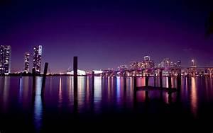 Miami Houses Usa City Night Sky Wallpapers - 2880x1800 ...