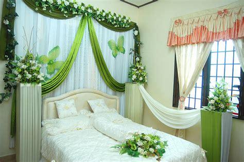 tips dekorasi kamar pengantin ringkas romantis