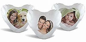 Herzkissen Mit Foto : fotokissen kissen selber gestalten mit foto ~ Watch28wear.com Haus und Dekorationen