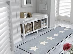 Läufer Flur Grau : wash dry fu matte stars grey sterne teppichl ufer grau verschiedene gr en ebay ~ Whattoseeinmadrid.com Haus und Dekorationen