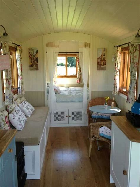 small homes interiors wagon interior small house home tiny cottages cabin