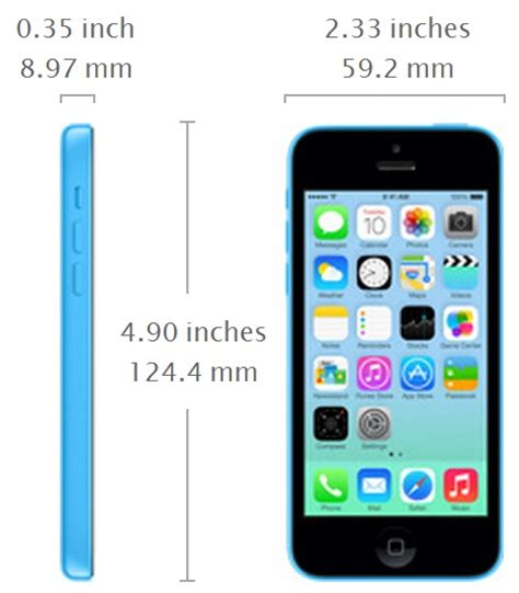 iphone 5c size apple iphone 5s vs iphone 5c what s the difference gadgets