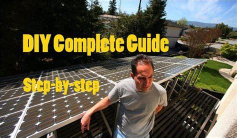 design  build  grid solar power system diy complete