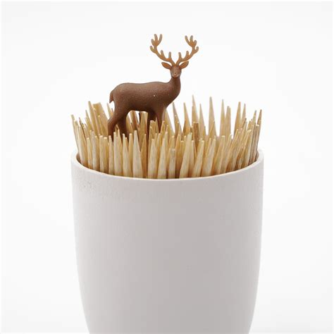 deer meadow toothpick holder mrphy