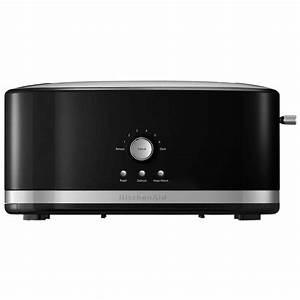 Kitchen Aid Toaster : kitchenaid 4 slice onyx black toaster kmt4116ob the home depot ~ Yasmunasinghe.com Haus und Dekorationen