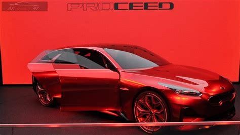 2019 Kia Proceed Reborn Concept  Interior Exterior Cee