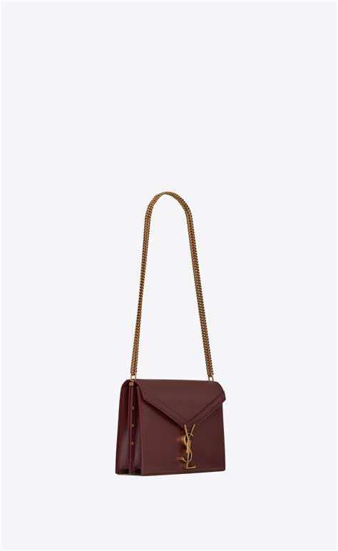 cassandra monogram clasp bag  smooth leather