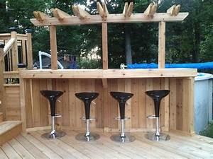 Bar Exterieur En Bois : 1000 id es sur le th me bar en bois de palettes sur ~ Premium-room.com Idées de Décoration