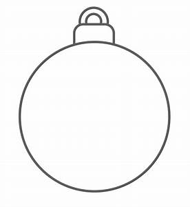 ornament to color prek holidays pinterest ornament With christmas baubles templates to colour