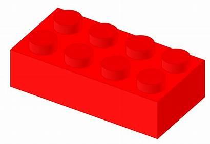 Lego Brick Svg Blocks Clipart Plastic Transparent