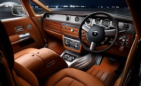 rolls royce ghost inside car and driver