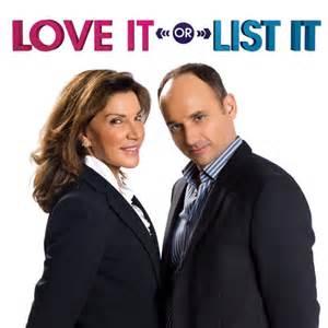 HGTV Love It or List It