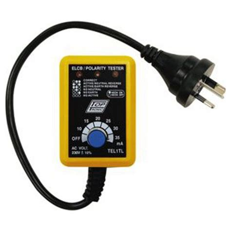 New Cabac Safety Power Point Tester Tests Polarity Earth