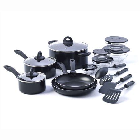 basic essentials starter kitchen cookware non piece stick