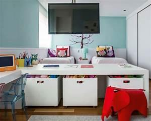 Kleines Kinderzimmer Für 2 Kinder : kinderzimmer gestalten tolles kinderzimmer f r zwei m dchen ~ Michelbontemps.com Haus und Dekorationen