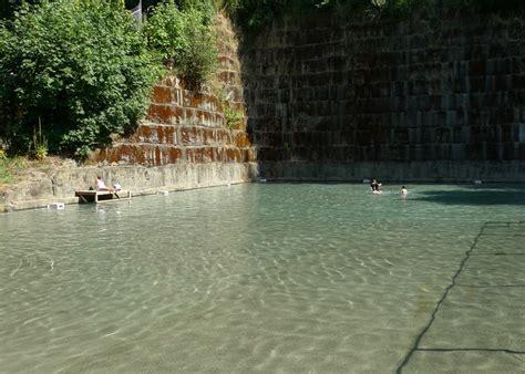 cold deep historic fun  teninos quarry pool