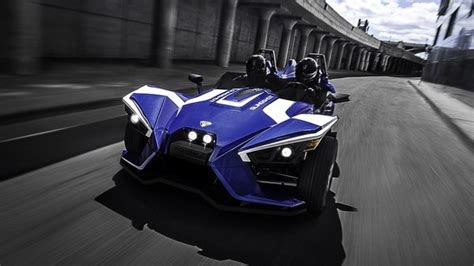 Polaris Slingshot @ Top Speed