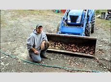 Part 2 The Harvest Homemade Potatoe digger,hiller