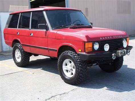 red land rover old seller 39 s remorse range rover classic rovers magazine