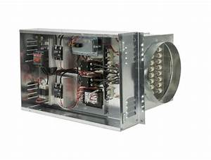 Open Coil Electric Duct Heater