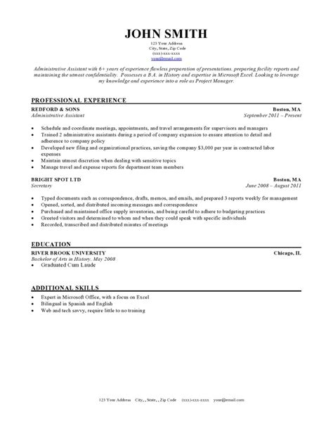 Free Professional Resume Templates | Latest Calendar