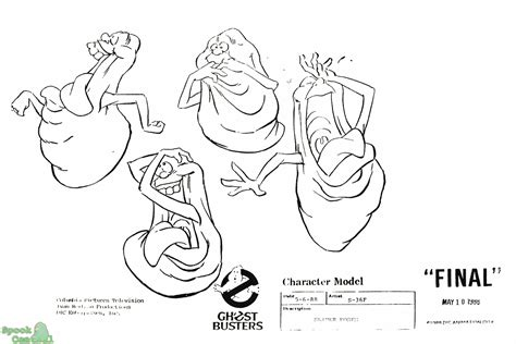 The Real Ghostbusters Free Colouring Pages