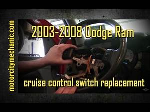 2003-2008 Dodge Ram Cruise Control Switch