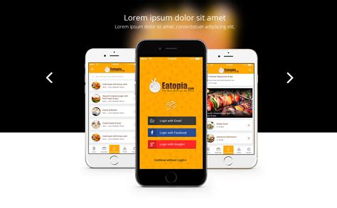 responsive mobile app landing page template