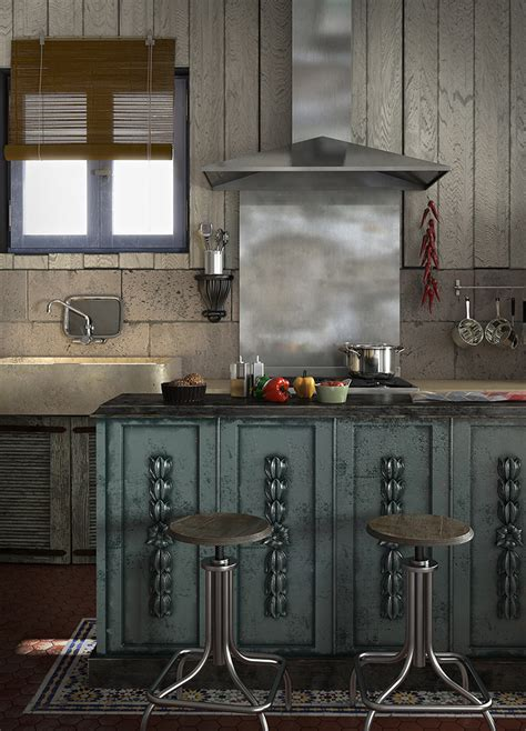cuisine sacel caustic corner cuisine de récup